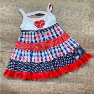 Other - 4th of July Dress for baby girl
